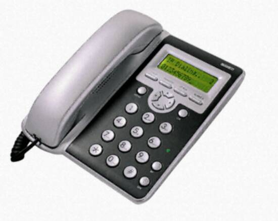 TELEFONO VOIP A STANDARD SIP -  VIVAVOCE - DISPLAY