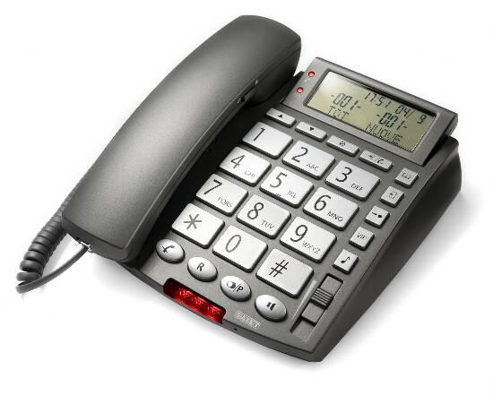 TELEFONO MULTIFUNZIONE - VIVAVOCE - TASTI GRANDI