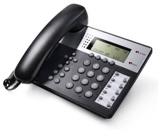 TELEFONO MULTIFUNZIONE - VIVAVOCE - IDENTIFICATORE DEL CHIAMANTE - OFFICE 201 GRIGIO SCURO