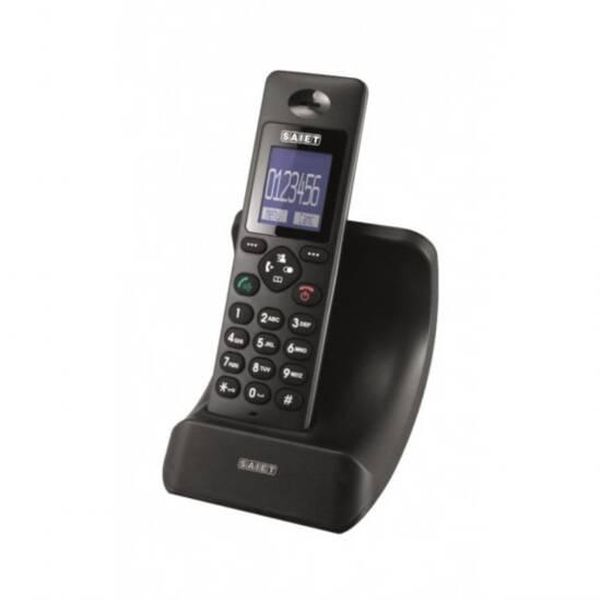 TELEFONO CORDLESS ONDA DECT GAP DISPLAY LCD DA 1,8  CON RETROILLUMINAZIONE BLU
