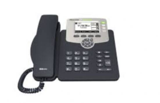 TELEFONO VOIP STANDARD SIP A 3 LINEE