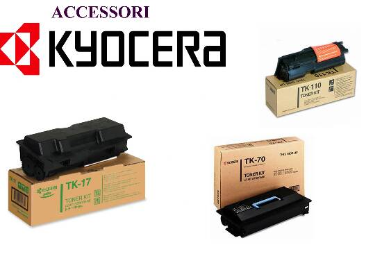 Kyocera Toner Kit Nero per FS-1030MFP, FS-1030MFP/DP, FS-1130MFP durata 3.000 pagine 1T02MJ0NL0