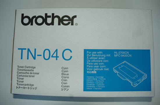 BROTHER *CARTUCCIA TONER ORIGINALE BROTHER SERIE 04 TN04C