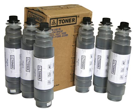 LINK CREATIVE TONER COMPATIBILE RICOH AFICIO 1022, 1027, 1032, 2022, 2027, 2032, 3025, 3030,MP2510,2550,2851,3010,3350,3351 PZ. 1