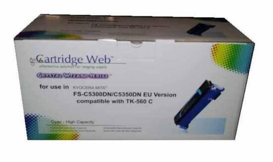 TONER COMPATIBILE KYOCERA MITA FS-C5300DN,5350DN TK560 CIANO 10000 PAGINE