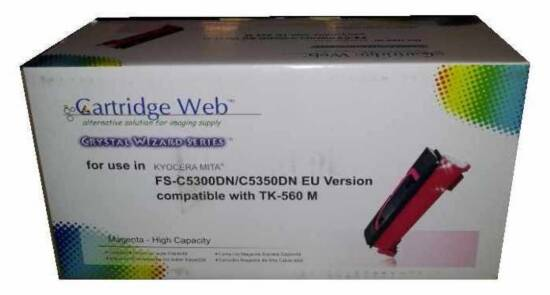 TONER COMPATIBILE KYOCERA MITA FS-C5300DN, 5350DN TK560 MAGENTA 10000 PAGINE