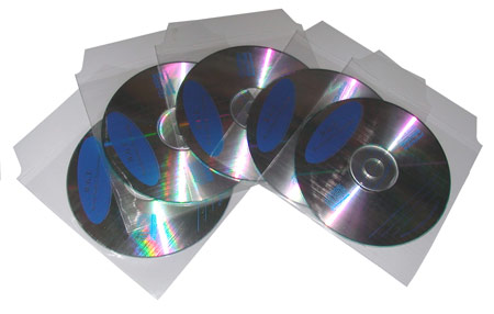 LINK SELECTED BUSTINA CON ALETTA PER CD-ROM