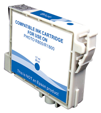 LINK CREATIVE CARTUCCIA COMPATIBILE PER EPSON STYLUS PHOTO R800 BLU T0549