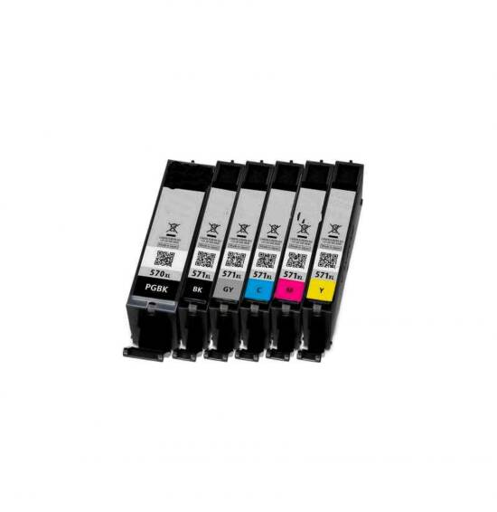 LINK CREATIVE CARTUCCIA COMPATIBILE CANON MG5750 MG6850 MG7750 GIALLO CLI571Y 12 ML.