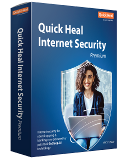 QUICK HEAL QUICK HEAL ANTIVIRUS INTERNET SECURITY, 1PC - 12MESI