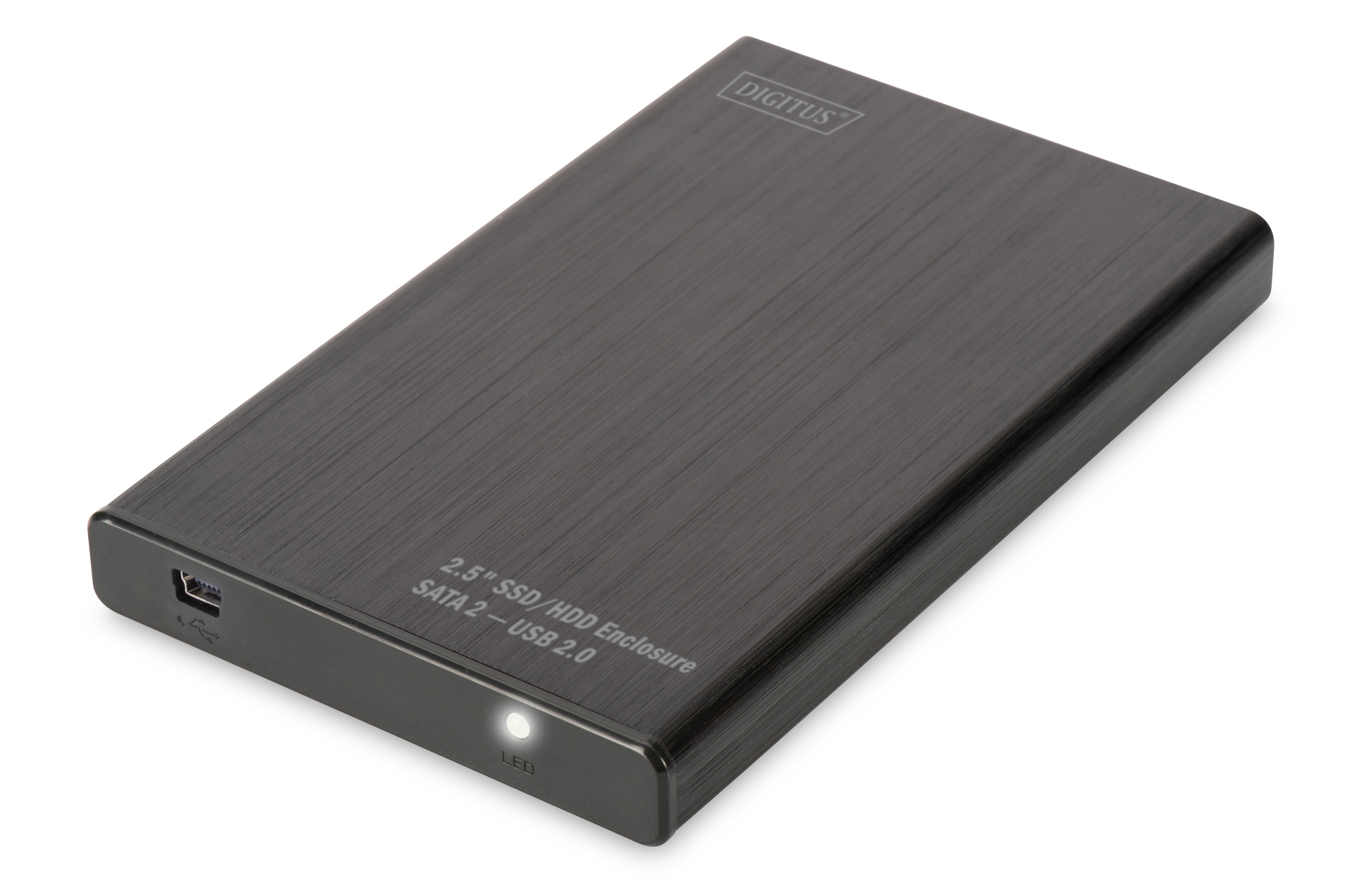 DIGITUS BOX ESTERNO USB 2.0 PER HDD/SSD 2,5