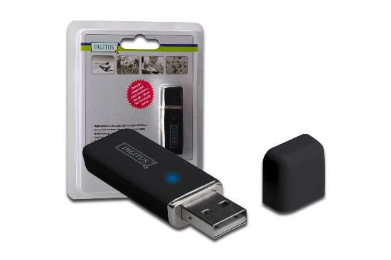 ADATTATORE WIRELESS USB 2.0 WLAN 150N 150 MBPS