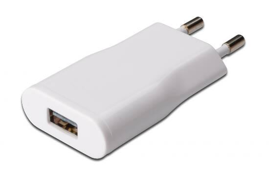 EDNET CARICATORE UNIVERSALE DA RETE CON PRESA USB 5 VOLT 1 AMPERE