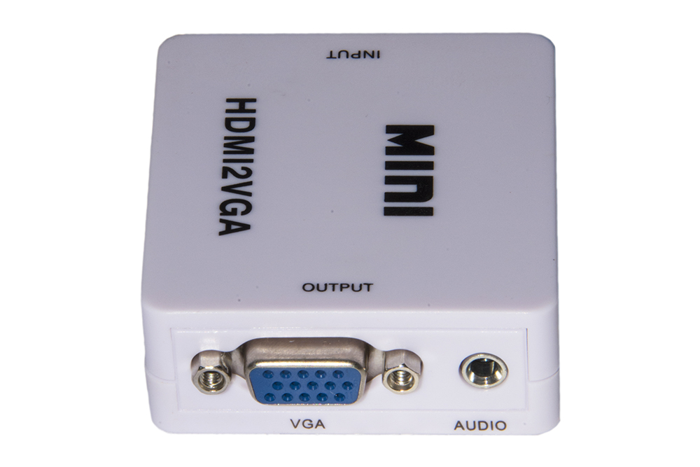 LINK MINI CONVERTITORE HDMI - VGA PER 1 DISPOSITIVO HDMI CON VIDEO VGA + AUDIO