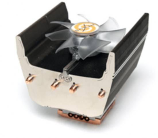 NEXUS DISSIPATORE PER INTEL SOCKET 775 E AMD AM2 - BASE IN RAME